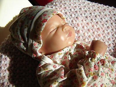 "Hush little baby Ashton Drake Breathing baby doll Reborn 18"" With box and certs"