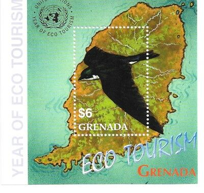 Grenada - Year of Ecotourism, 2002 - Sc 3264 S/S MNH