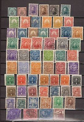 Honduras. 1880-1913. A collection of 61 MH and Used stamps.