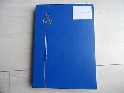 100's australia stamps in a large stock book