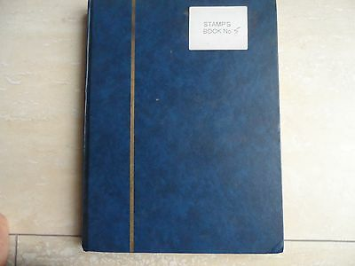 mint and used canada stamps in large stock book
