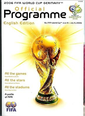 2006 WORLD CUP Official UK Edition Tournament Brochure