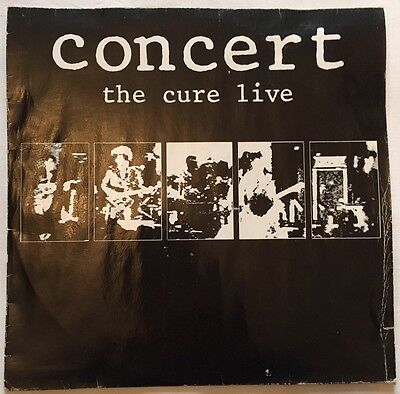 "THE CURE - ""Concert - The Cure Live"" - 1984 - Fiction Records"