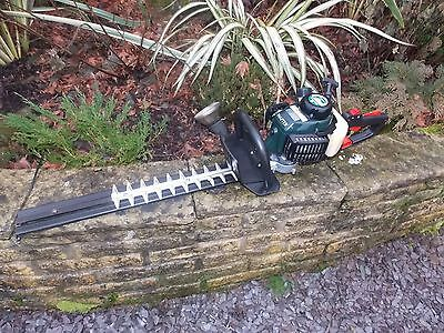 """Hayter Petrol Hedge Cutter with 22"""" double sided blade and rotating handle"""