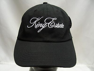 King Estate - Oregon Wines - Imperial - Black - Adjustable Ball Cap Hat!