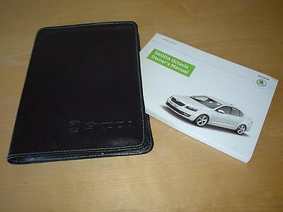 SKODA OCTAVIA Mk3 SPORT CR TDI SE TSI GREENLINE Owners Handbook Manual Book