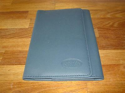 LAND ROVER WALLET DEFENDER DISCOVERY For Owners Handbook Manual & Service Book