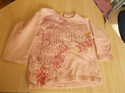 Tee Shirt Manche Longue Fille In Extenso 18 Mois