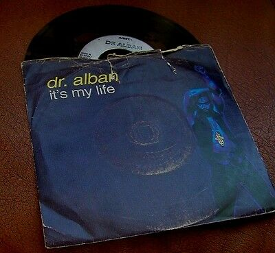 """DR. ALBAN 7"""" single IT'S MY LIFE  (1992)"""