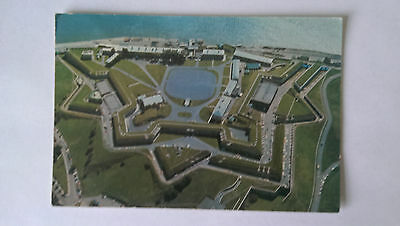 The Quebec Citadel, Canada 1974 matching pre-stamped postcard