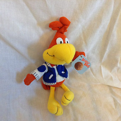 "General Mills Breakfast Babies Bean Plush Sonny the Cuckoo Bird Doll 10"" 1997"