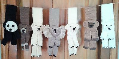 Teddy Bear Scarves for Toddlers