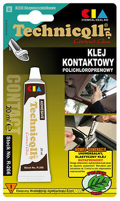 UNIVERSAL CONTACT ADHESIVE GLUE Car Upholstery Plastic Cork Leather SHOES R-266