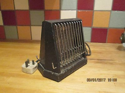old fashioned  vintage toaster swan   brand