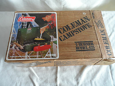 Vintage Coleman 425F Camp Stove With Box