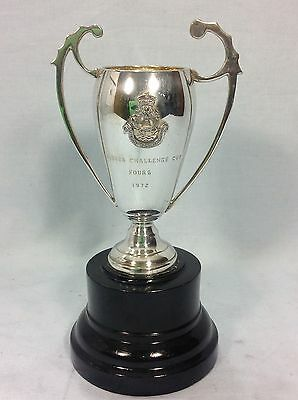 Vintage Royal Hong Kong Yacht Club Silver Plated Rowing Trophy