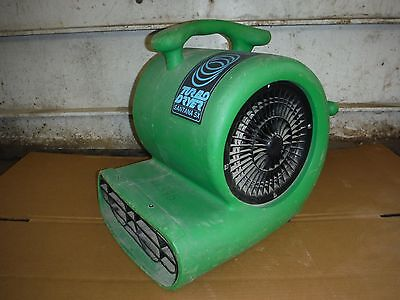 Dri Eaz Turbo Dryer Santana Sx 2-Speed Carpet / Floor Blower / Fan / Air Mover!