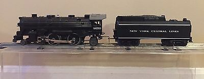 Lionel O 8670 Steam Engine Cast Metal And New York Central Lines Tender New