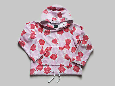 Mini Boden Towelling Hoodie Age 7-8 Years