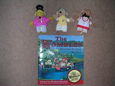 The Wombles: Book and 3 characters