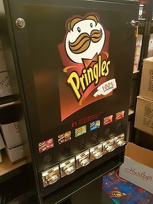Pringles Vending Machine with stand.  Great condition, never used.  £1 vend.
