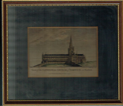 View of the CATHEDRAL CHURCH of NORWICH in Norfolk, by Thornton / Hogg c.1784