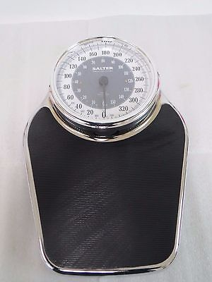 Salter Professional ENGLIS AND METRIC Chrome Bath Scale 400lbs