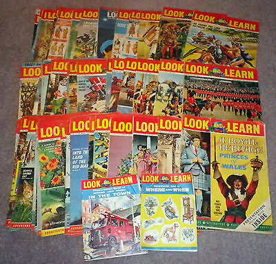 64 Look and Learn Magazines from the 1960's Issues 1 - 64 inclusive