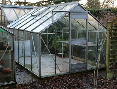 Aluminium Greenhouse 12ft x 8ft