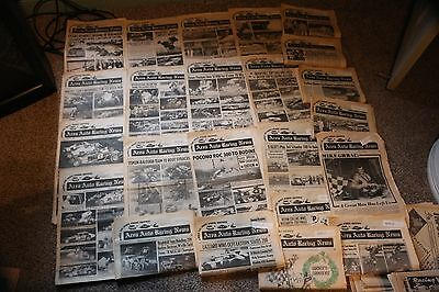 30 issues of Area Auto Racing News 1978