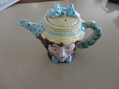 Vintage Beswick Dolly Varden Charles Dickens Teapot
