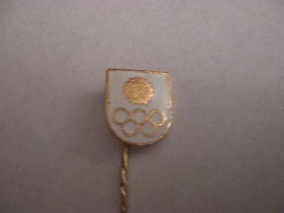 Rare Old Olympic Games Noc (Cs) Enamel Stick Pin Badge