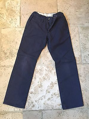 Lovely boys Gap navy chinos - age 7 years