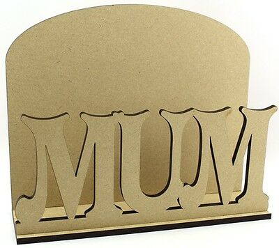 Mum Letter Mail Post Rack - Laser cut 6mm MDF - Mother's Day Gift Idea