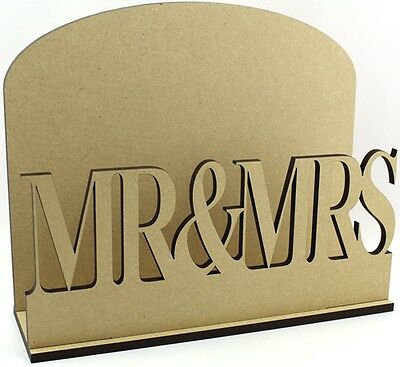 Mr & Mrs Letter Mail Post Rack MDF Wedding Present Gift Idea
