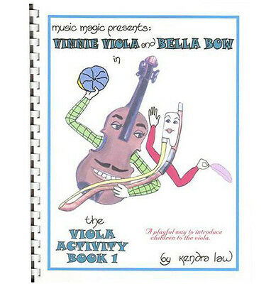 Viola Activity Book 1 by Kendra Law - LEARN VIOLA!