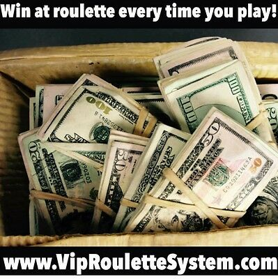 The Best Roulette System Ever Made!! Best Roulette Strategy On Ebay!!!