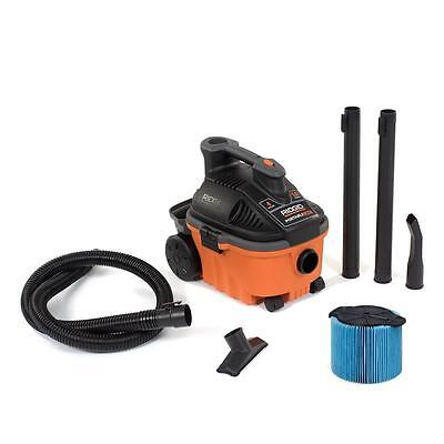 RIDGID 4 gal. 5.0-Peak HP Portable Wet Dry Vac WD4070