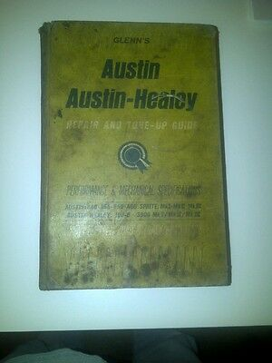 Glenn's Austin - Healey repair and tune up guide