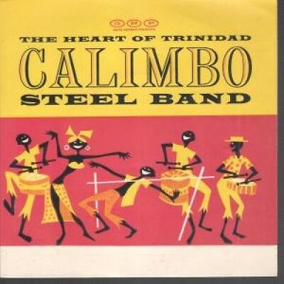 """CALIMBO STEEL BAND Heart Of Trinidad 7"""" VINYL UK Vocalion 4 Track EP Featuring"""
