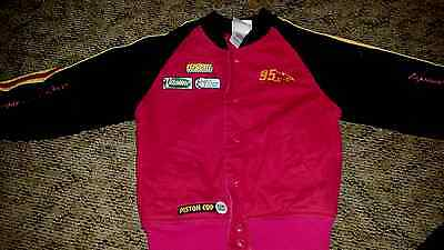 Lightning McQueen Cars Jacket Size Child's X-Small