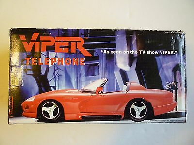 Vintage 1994 Paramount Pictures Red Viper Telephone TV Show  NIB