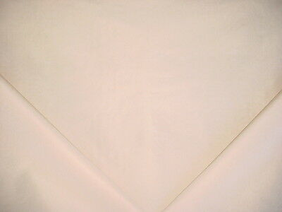 11+Y Colefax Fowler / Cowtan Tout Creme Silk Moire Drapery Upholstery Fabric