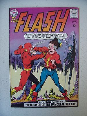 The Flash #137 Fine+    Golden Age Flash & Jsa Crossover   Key Issue!
