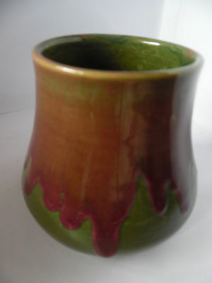 Remued Onion Shape Vase With No Flare. Very Early Model Of This Shape 103.