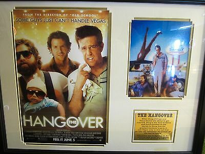 Legendary Art The Hangover Framed with FREE Shipping