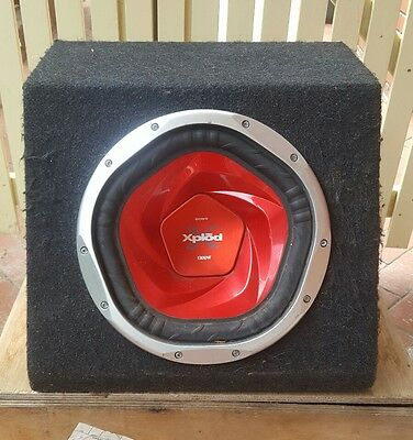 "Sony Xplod 12"" Subwoofer 1300w - Comes With FREE amplifier"