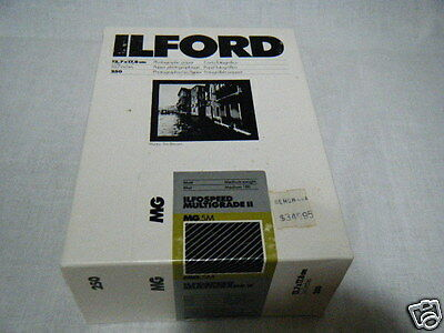 Old NEW Stock Ilford 5 x 7 Matt Photographic Paper 250 Ilfospeed Multigrade II