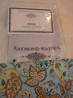 Tablecloth Raymond Waites  Rectangular 60 in by 120 in   NEW