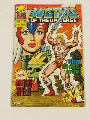 Masters of the Universe #7 Swedish comic book Sweden FN/VF SCARCE